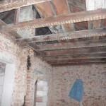 Dachkonstruktion entfernen